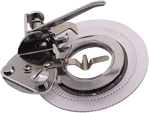 Prensatelas multifunción para bordado de disco, para máquina de coser en casa, accesorios de retazos, herramientas de punto de flor 3700 L medium plata: Amazon.es: Hogar