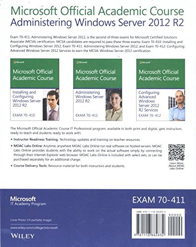 Administering Windows Server 2012 R2: Exam 70-411 (Microsoft Official Academic Course)