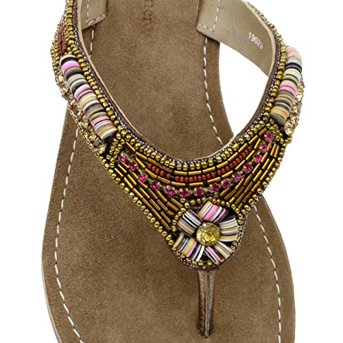 Lilley & Skinner Womens Bronze Toepost Sandal Multicolour vZJ8rxv
