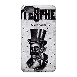 Excellent Hard Phone Cover For Iphone 6 (pck18905CgnM) Allow Personal Design Stylish Hatesphere Band Pattern