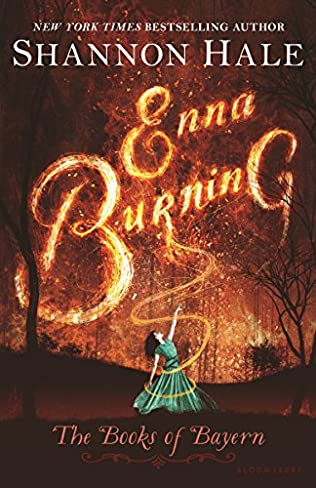book cover of Enna Burning