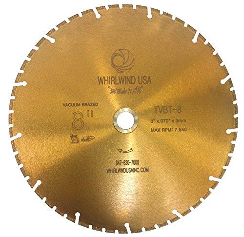 8 inch metal cutting blade - 9