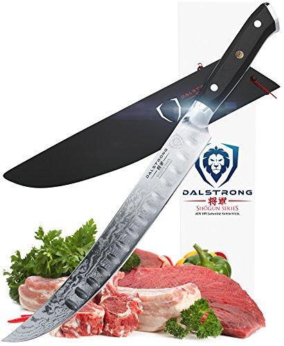Breaking 10 Knife (DALSTRONG Butcher's Breaking Cimitar Knife - 10