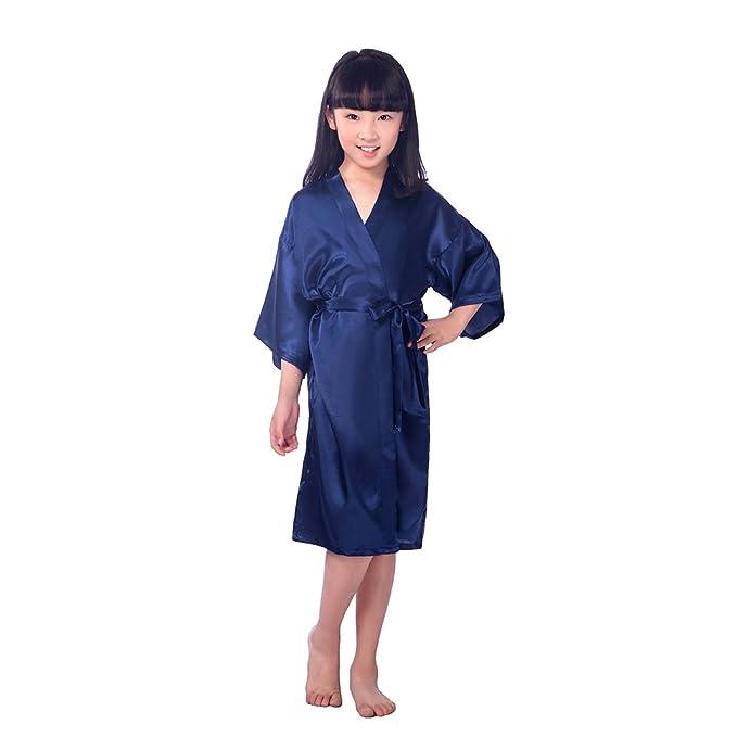 BOYANN Niños Niñas Kimonos Pijamas Batas Vestido de Novia: Amazon.es: Ropa y accesorios