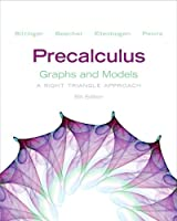 Precalculus: Graphs and Models, 5th Edition Front Cover