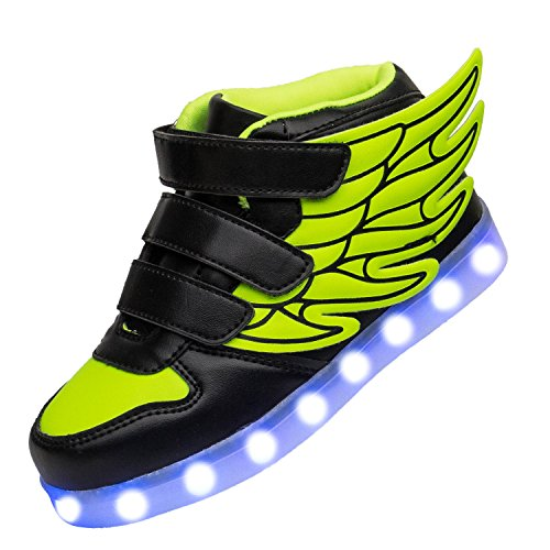 Yutoey Sneakers Flashing Rechargeable Toddler