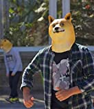 Miyaya@ Funny Doge Dog Animal Head Mask for Mask
