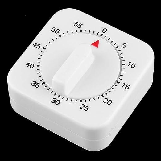 Platz 60 Minute mechanische Küche Kochen Timer Essen Vorbereitung Backen We J8T0