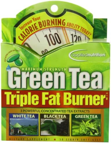 Applied Nutrition Green Tea Triple Fat Burner, 30 Liquid Soft-Gels by Applied Nutrition