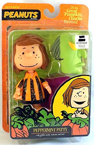 Peanuts It's The Great Pumpkin Charlie Brown Rare Peppermint Patty Figure