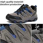 Lvptsh Chaussures de Randonnée pour Hommes Bottes de Randonnée Bottes de Trekking Antidérapantes Bottes d'escalade… 8