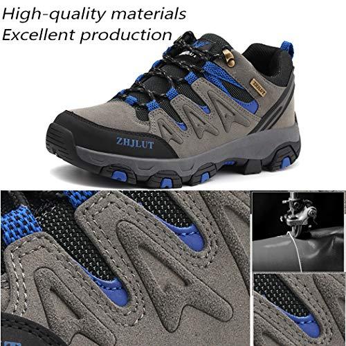 Lvptsh Chaussures de Randonnée pour Hommes Bottes de Randonnée Bottes de Trekking Antidérapantes Bottes d'escalade… 3