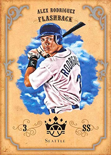 2019 Panini Diamond Kings DK Flashbacks #DKF-AR Alex Rodriguez Seattle Mariners Baseball Card