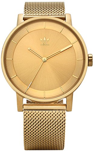 Adidas Men's Analogue Quartz Watch with Stainless Steel Strap Z04-502-00 ()