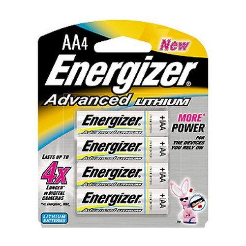 Energizer Advanced Lithium AA Battery 4 (Energizer Advanced Photo Lithium Battery)