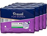 Prevail Maximum Absorbency Incontinence Underwear for Women, Extra Large, 16-Count (Pack of 4)