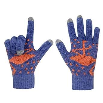 Gloves us Women Men Winter Touch Screen Knit Gloves Warm