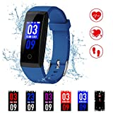 Best fitbit Blood Pressure Monitors - Kirlor Fitness Tracker, New Version Colorful Screen Smart Review