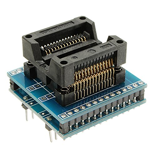ILS - SOP28 To DIP28 Adapter Socket Wide 300mil IC SOIC28 To DIP28 SOP16 To DIP16 SOP20 To DIP20 IC Programmer Socket Adapter