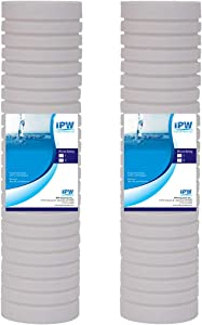 Compatible for Whirlpool Standard Capacity Whole House Filtration Replacement Filter (2 Pack) Whkf-gd05 by IPW Industries Inc.