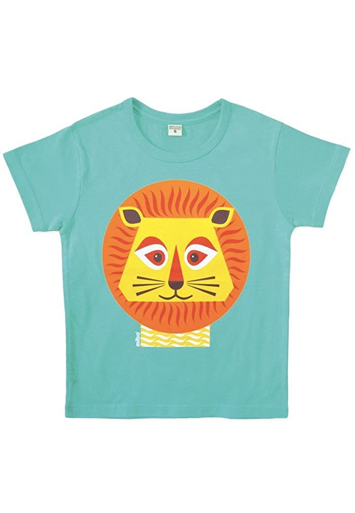 Achat nature Tshirt coton bio lion, taille 8 ans TY226