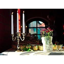 "Harmonic Blossom 12"" Dripless Taper Candles 12 P"