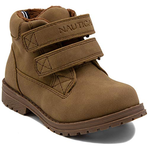 Nautica Kids Chukka Boot Boys Adjustable Strap Dress Bootie-Fulton ()