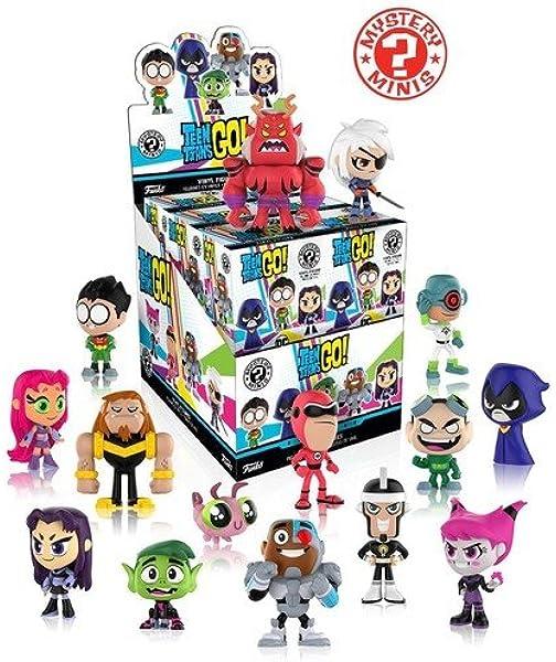FunKo - Figura Mystery Minis Teen Titans Go s1. Una figura aleatoria.: Amazon.es: Juguetes y juegos