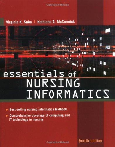Essentials of Nursing Informatics (Saba, Essentials of Nursing Informatics)