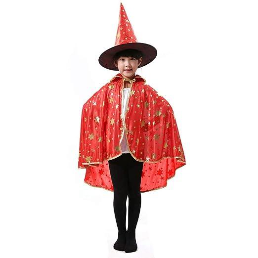 Los Niños De Halloween Capa Manto, Los Niños Brujo Mago Capa ...