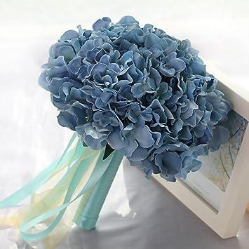Qin X Hochzeit Brautstrauss Kunstseide Mit Blumen Hochzeit Dekoration