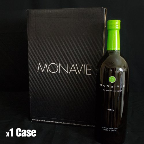 Monavie Active 1 Case 4 Bottles Comes Insured Against Breakage by MonaVie