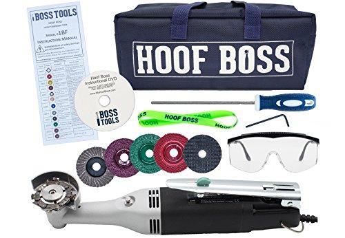 Complete Horse Hoof Care Set/ Trimmer Set 110v US by Hoof Boss