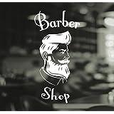Panneau en vinyle pour salon de coiffure pour hommes Barber Shop