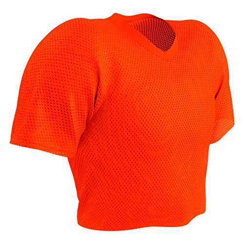 Youth Porthole Mesh (Champro Poly Porthole Mesh Waist Length Football Practice Jersey, Youth or Adult)