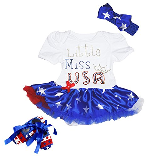 4th of july dress toddler - 8