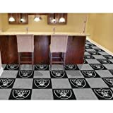 NFL Team 18'' x 18'' Carpet Tile NFL Team: Oakland Raiders