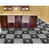 NFL Team 18'' x 18'' Carpet Tile NFL Team: Oakland Raiders