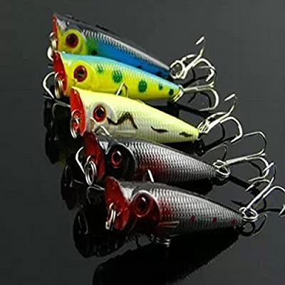 Hot Minnow Lure Bass Hard Baits Biomimicry Fishing Tackle