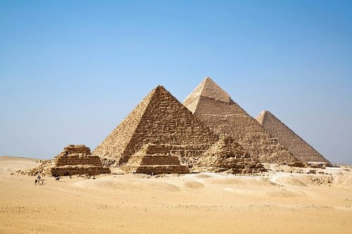 The Great Pyramids of Giza Giant XL Poster Photo Historical