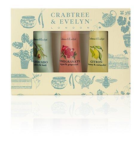 -  kurabuturi-iヴrin Botanicals Hand Therapy Set (X Citron, Honey & Coriander, X Pomegranate, Argan & Grapeseed, X Avocado, Olive & Basil) 3x25g/0.9oz Parallel import goods