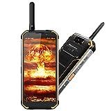 Blackview BV9500 Pro Smartphone Waterproof IP68, [MIL-STD 810G] Octa Core 2.5GHz 6GB+128GB 5.7 Inch FHD+ IPS 10000mAh Factory Unlocked SIM Free 4G Cellphone with Two Way Radios Walkie Talkie (Yellow)