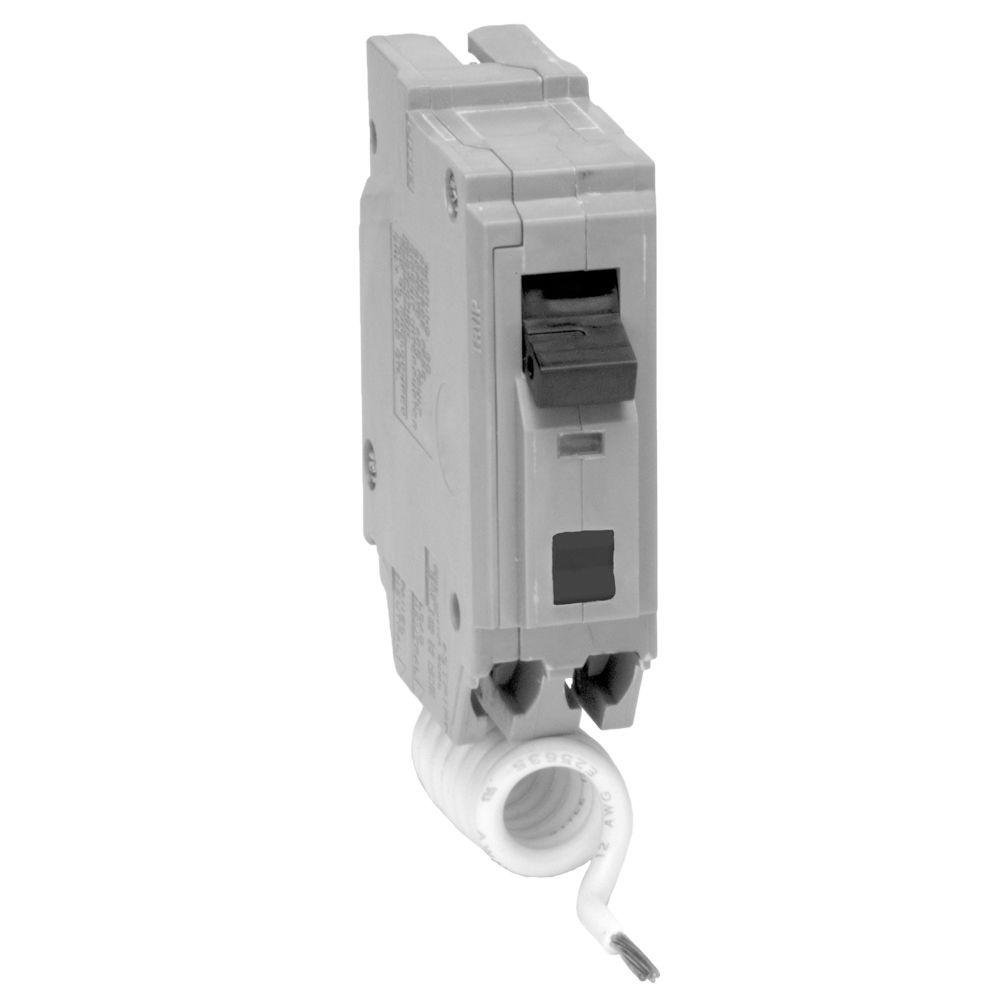 GE THQL1115AF2 Plug-In Mount Type THQL Feeder Arc Fault Circuit Interrupter 1-Pole 15 Amp 120/240 Volt AC