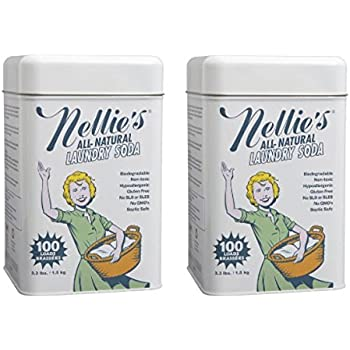 Nellie's All Natural Laundry Soda, 3.3 lbs (2)