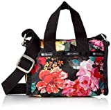 LeSportsac Women's Essential Mini Weekender, Romantics Black