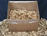 J.C.'s Smoking Wood Chips - 1500 Cu Inch Box - Pecan Large Chips