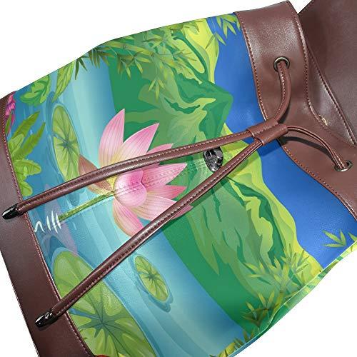 Pour À Main Femme Porté Taille Au Dos Unique Sac Dragonswordlinsu Multicolore YaUxwq5Txn