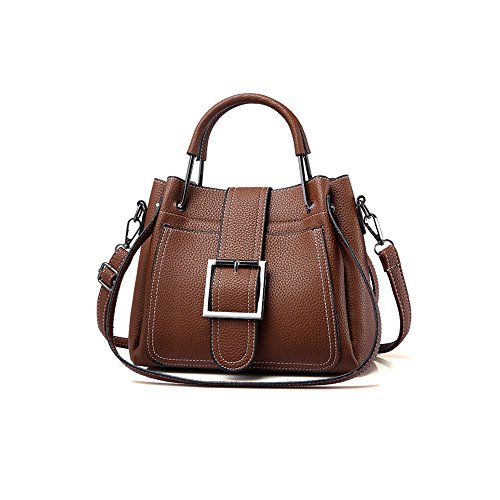 Bag Messenger Single Ajlbt Korean Brown Shoulder Casual Fashion Fashion zP7cnW
