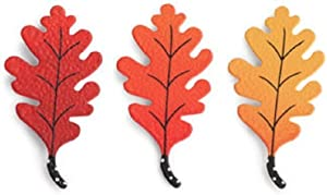Embellish Your Story Oak Leaf Magnets - Set of 3 Assorted by Demdaco