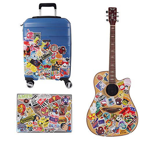 KAMSPARK Stickers/Laptop Stickers Laptop, Luggage, Fridge, Car, Bicycle, Skateboard, Guitar 50 Pcs (Marvel)